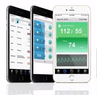 controla la tension arteria a traves de una App