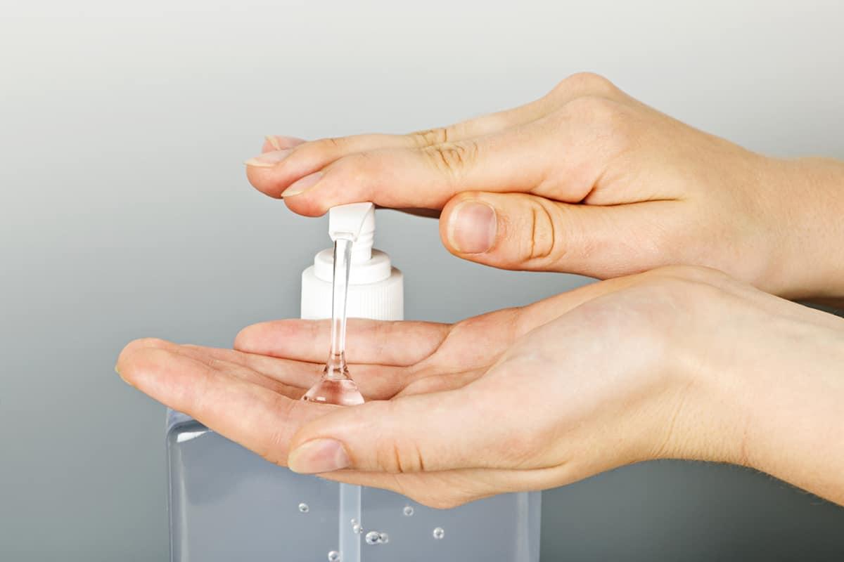 gel desinfectante casero