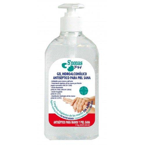 gel hidroalcoholico snonas